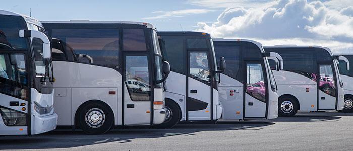 convenient bus rental service